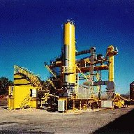 Asphalt industry - filter made by Dantherm GmbH