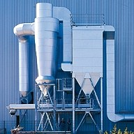 Bio mass incineration - filter made by KREISEL GmbH & Co. KG