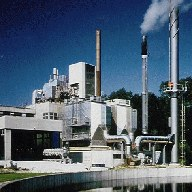 Planta incineradora de residuos – filtro de la Intensiv-Filter GmbH & Co. KG