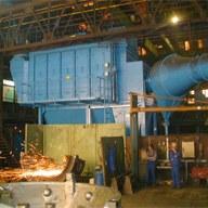 Stahlindustrie – Anlage der LÜHR FILTER GmbH & Co. KG